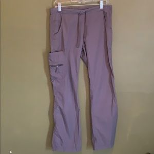 Peaches grey scrub pants